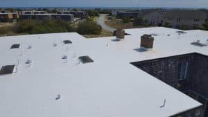 commercial single ply roofing